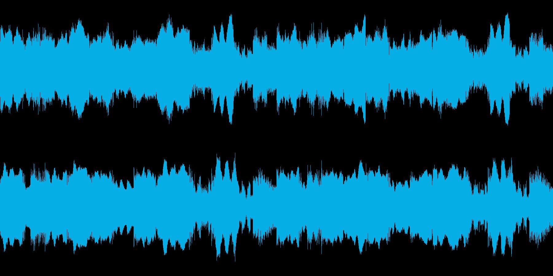 果てしなく深く暗く、じっとりとしたホラ…の再生済みの波形