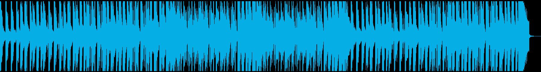 耳に残る迫りくる様なFutureFunkの再生済みの波形