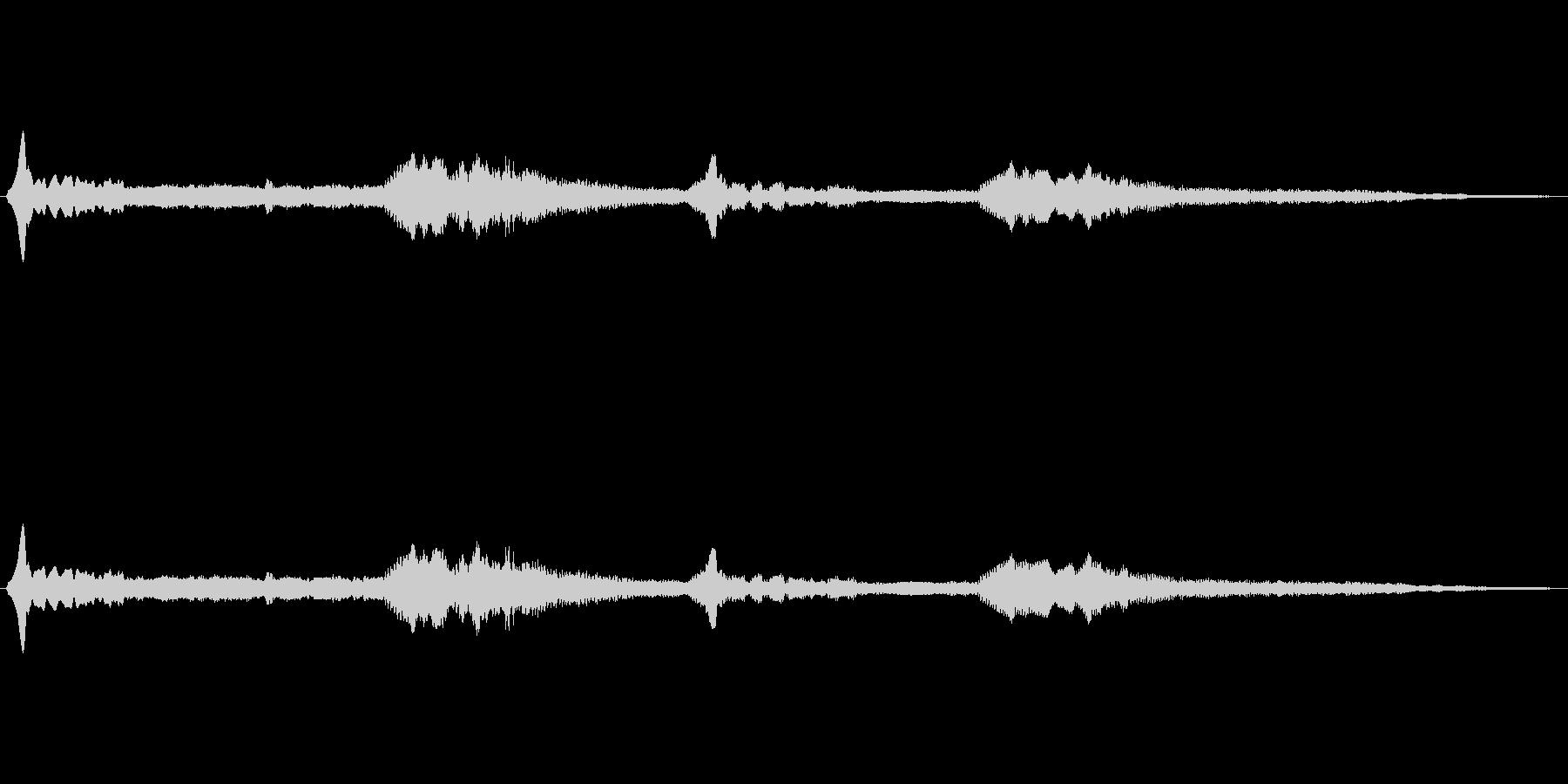 宇宙っぽい電子音3の未再生の波形