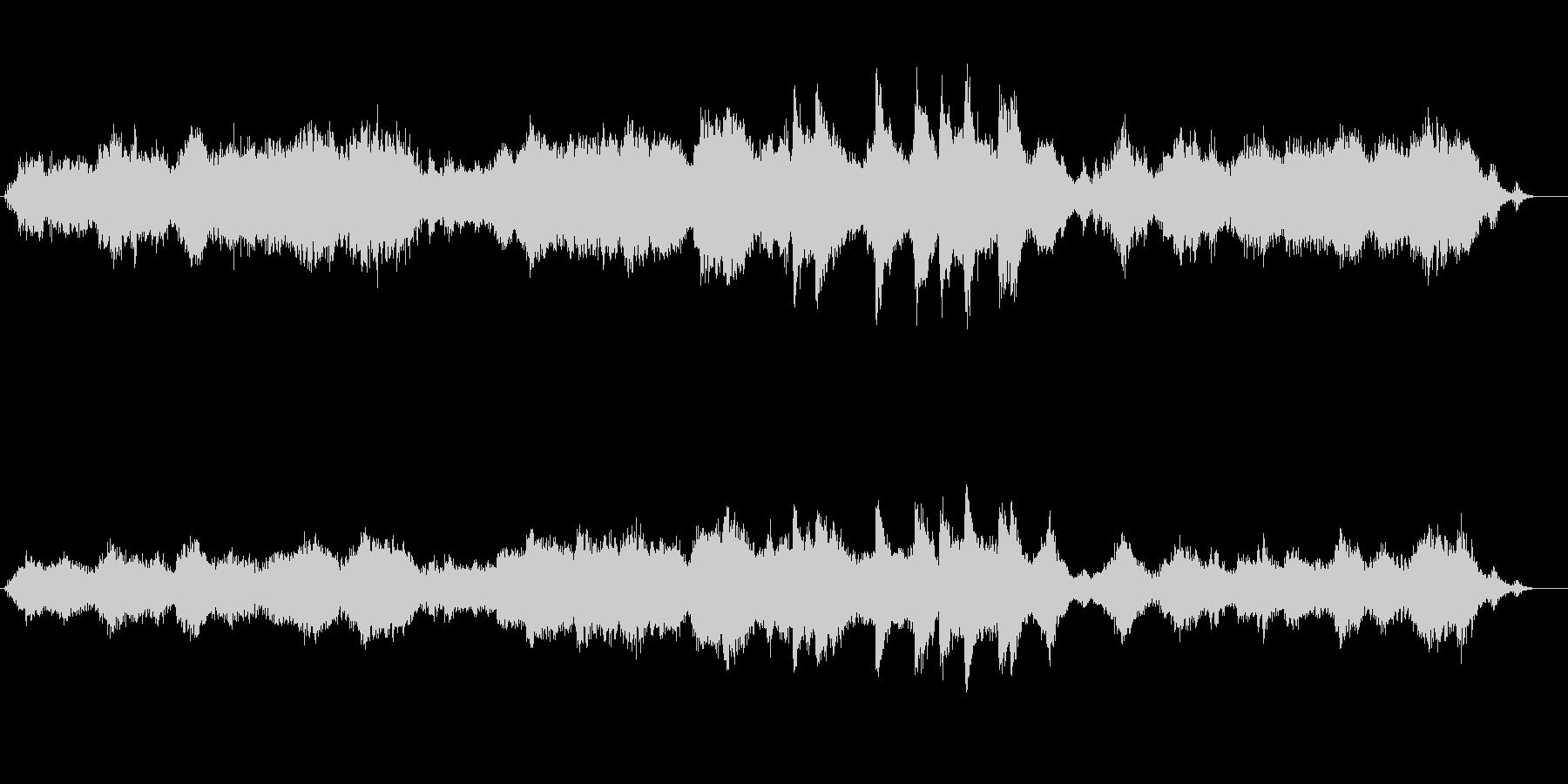 環境音楽(海中探索風)の未再生の波形