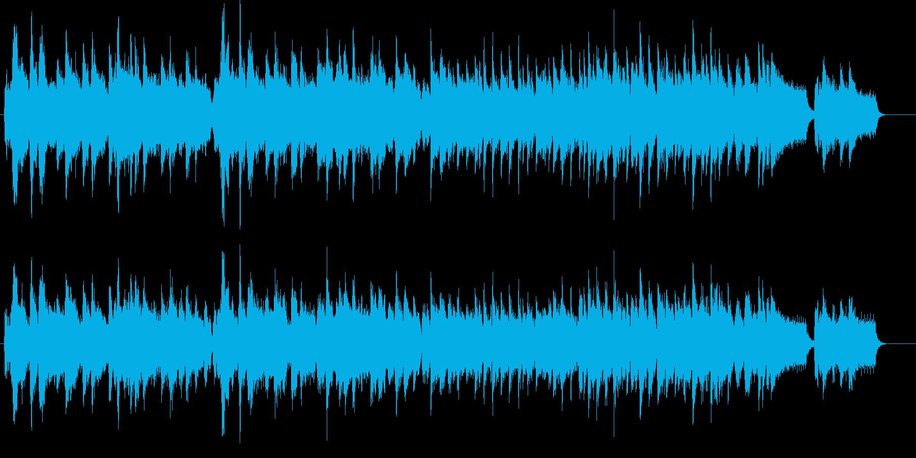 アメリカ国歌 アコーディオン カントリーの再生済みの波形