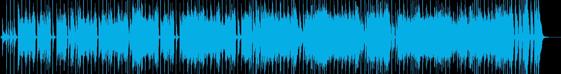 オリエンタル・コミカル・いじわるな感じの再生済みの波形