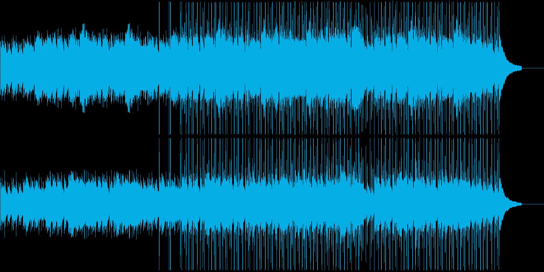 田舎を旅するような日常系ケルトBGMの再生済みの波形