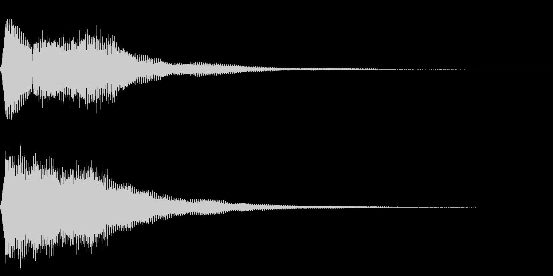 効果音 ビーム 宇宙の未再生の波形