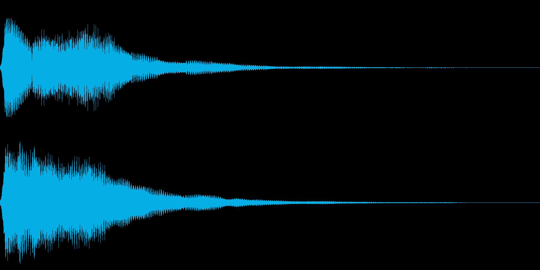 効果音 ビーム 宇宙の再生済みの波形