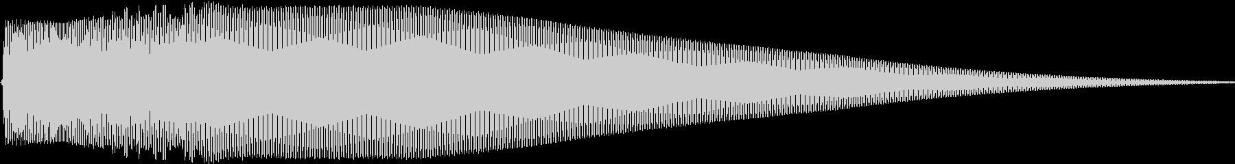Pure ピュアでクリアなタッチ音 Aの未再生の波形