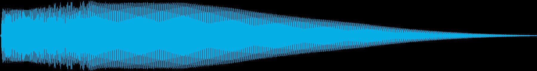 Pure ピュアでクリアなタッチ音 Aの再生済みの波形