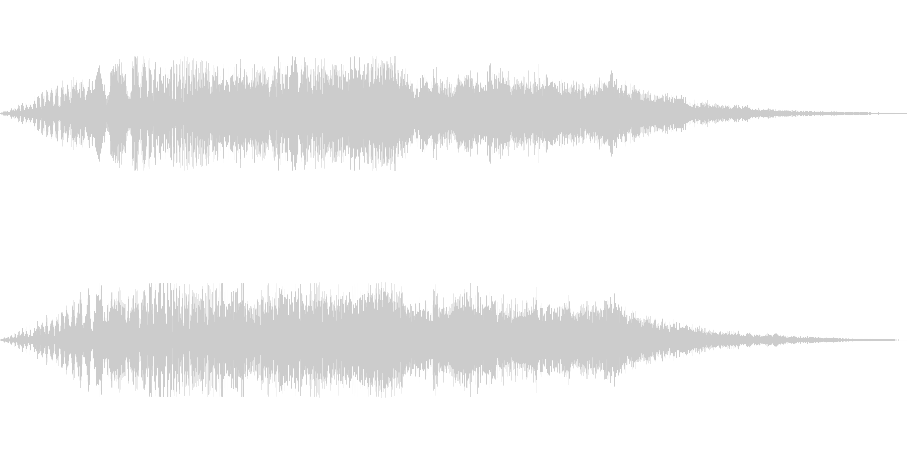 [ポワーン]経験値アップ(シンセ系)の未再生の波形