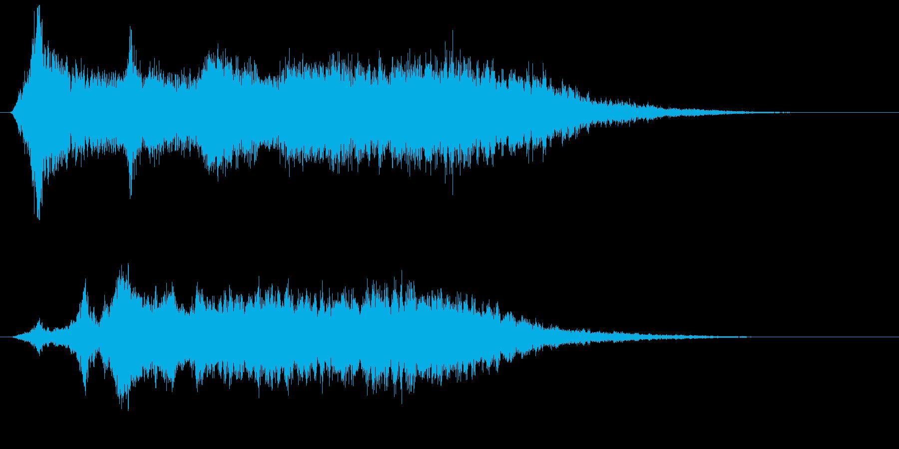 幻想的なシンセコードトーンです。の再生済みの波形