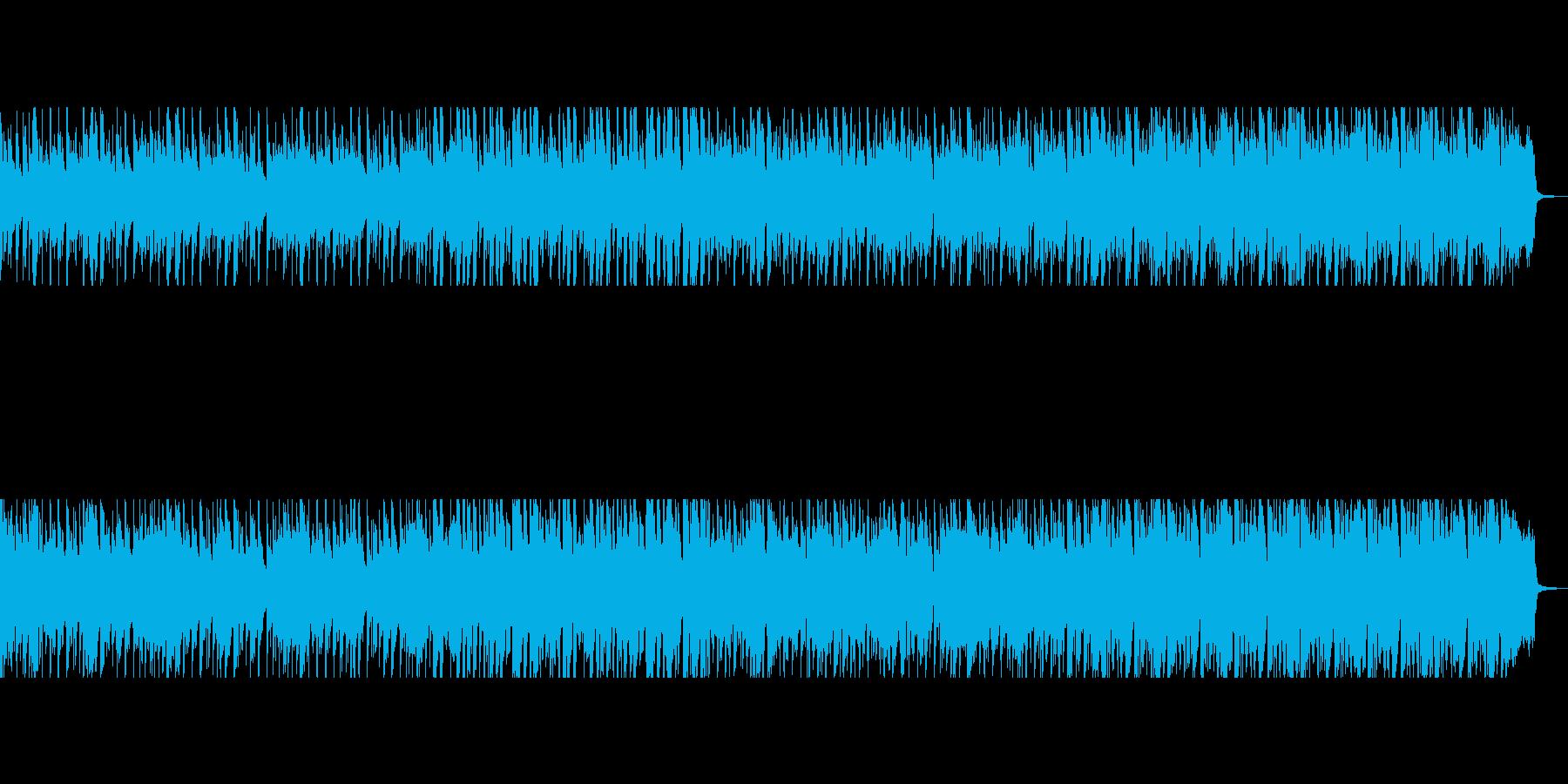 アクションを奮起、鼓舞するゴキゲンな曲の再生済みの波形
