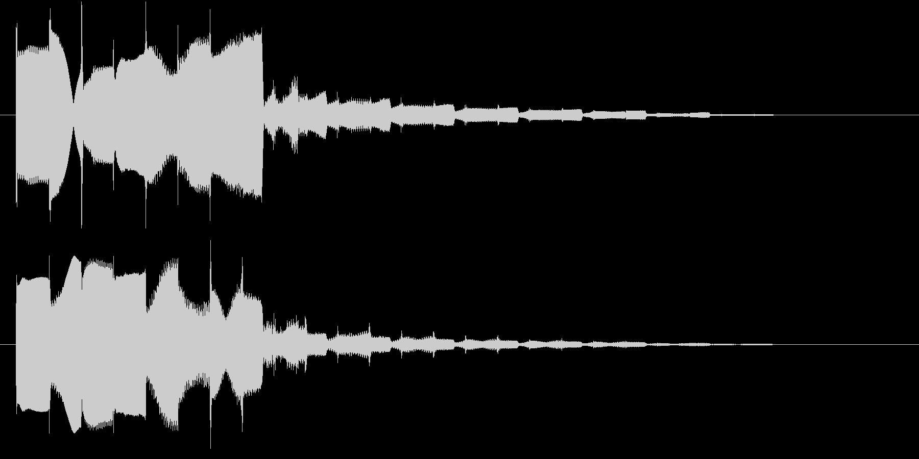 サウンドロゴ1の未再生の波形