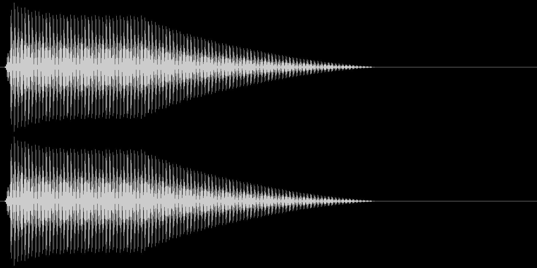 OctaveCom アプリ用タッチ音11の未再生の波形