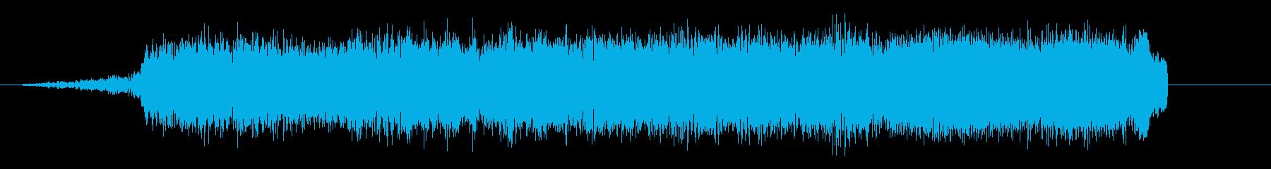 キュワワワ!(弱そうな波動攻撃)の再生済みの波形