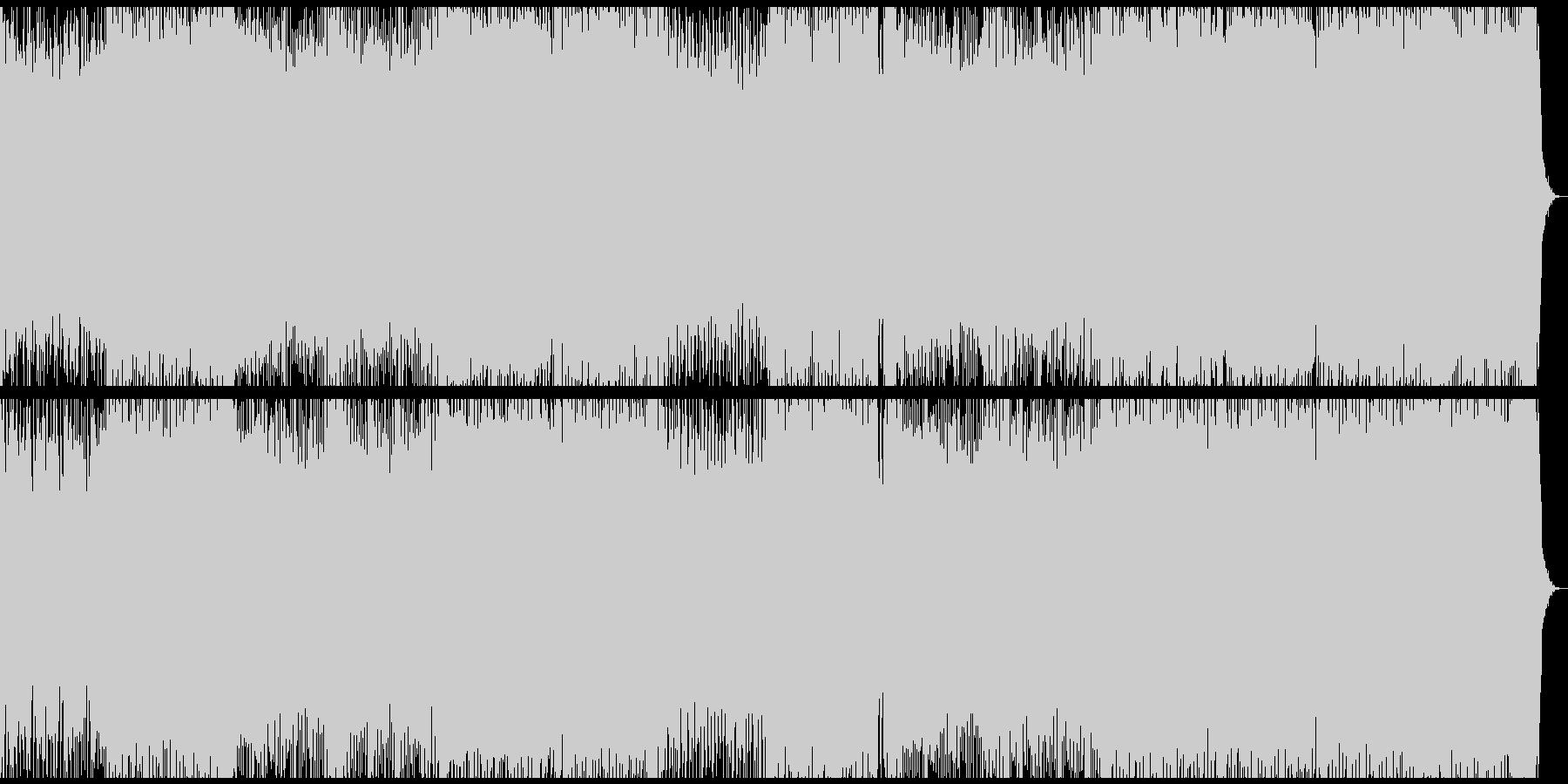 可愛らしくソフトなエレクトロハウスの未再生の波形