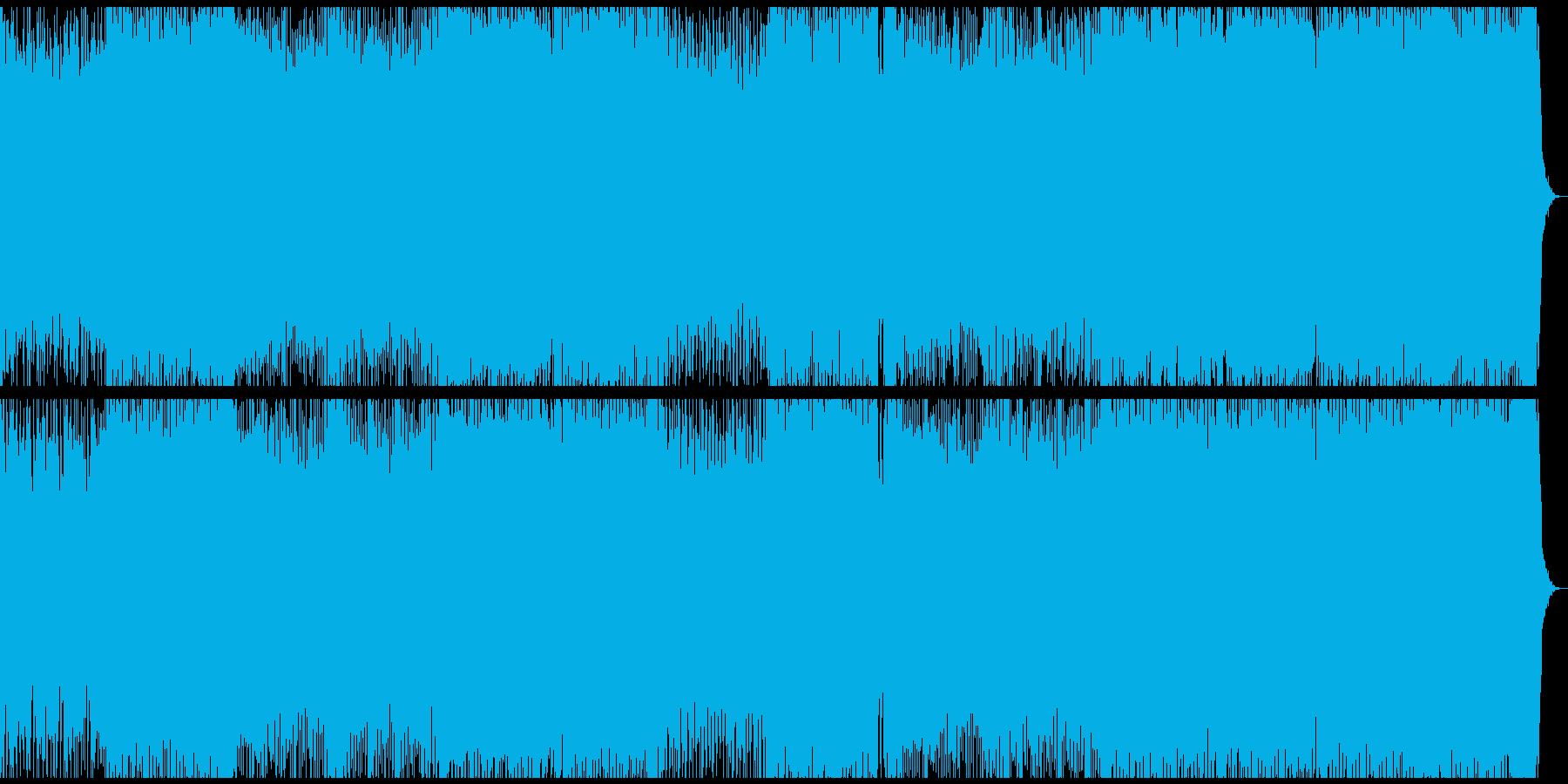 可愛らしくソフトなエレクトロハウスの再生済みの波形