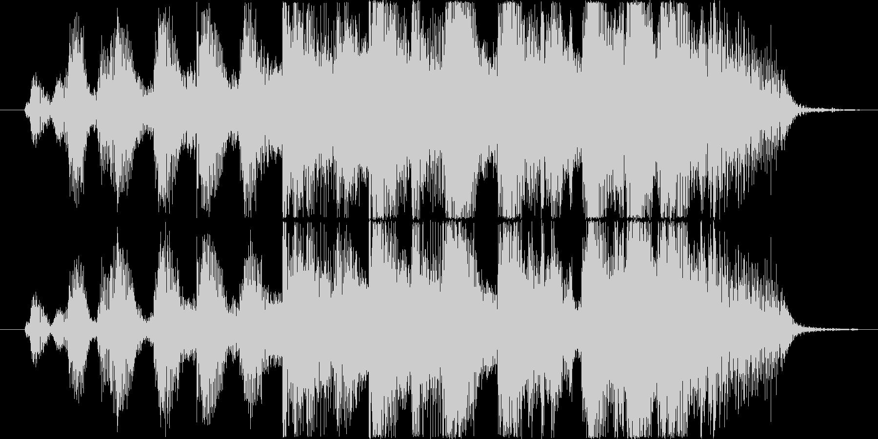 ファンキー&ゴージャスなヒップホップロゴの未再生の波形