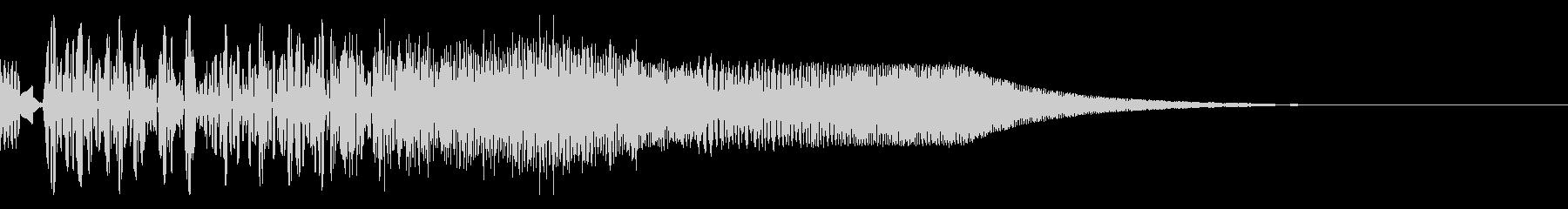バシャッ01(水・液体系のアクション音)の未再生の波形