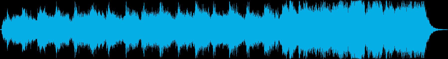 アジア風のシンセの幻想的な約1分の曲ですの再生済みの波形