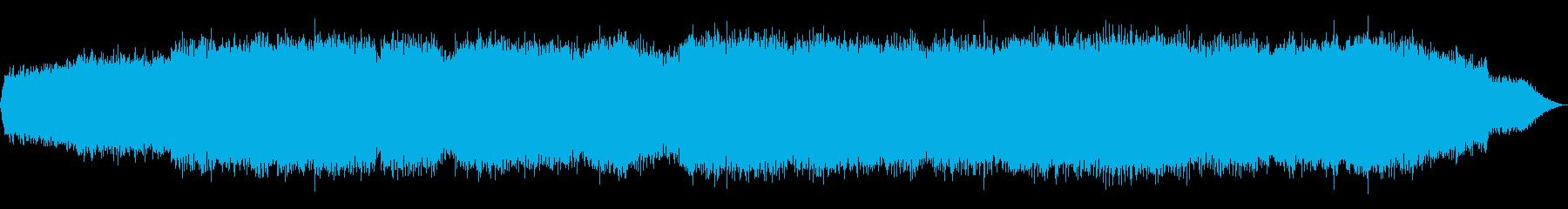 眠るためのドローンミュージックの再生済みの波形