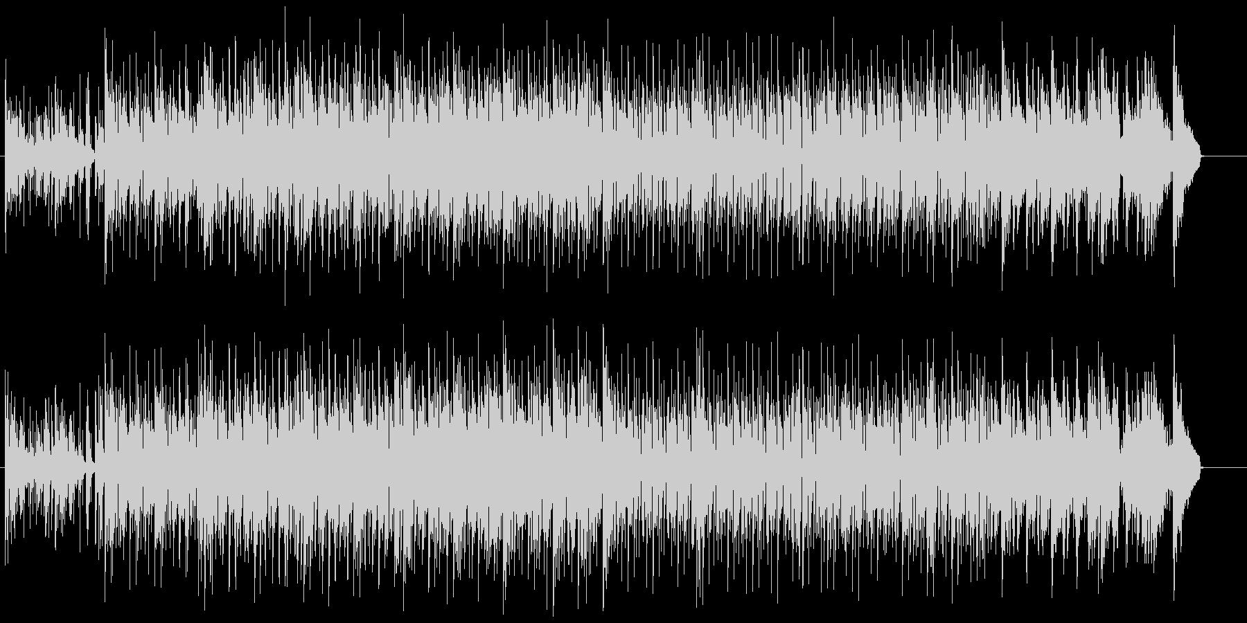 妖艶なアシッド・ジャズ系クラブ・サウンドの未再生の波形