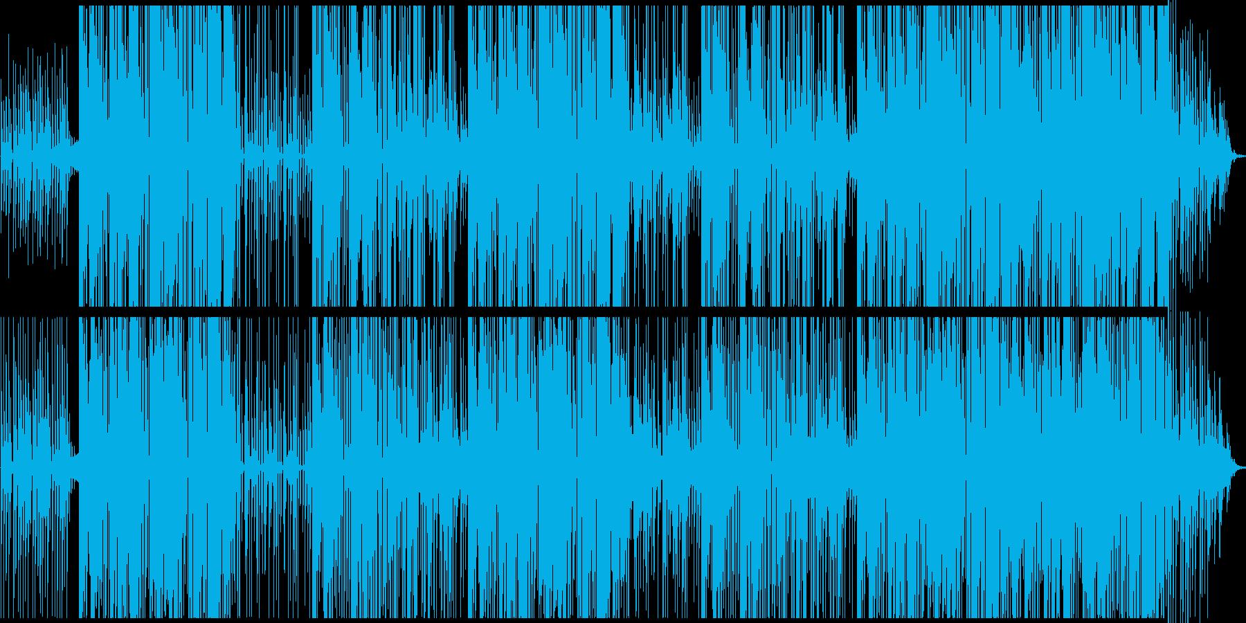 和テイストの琴が印象的なTrapの再生済みの波形