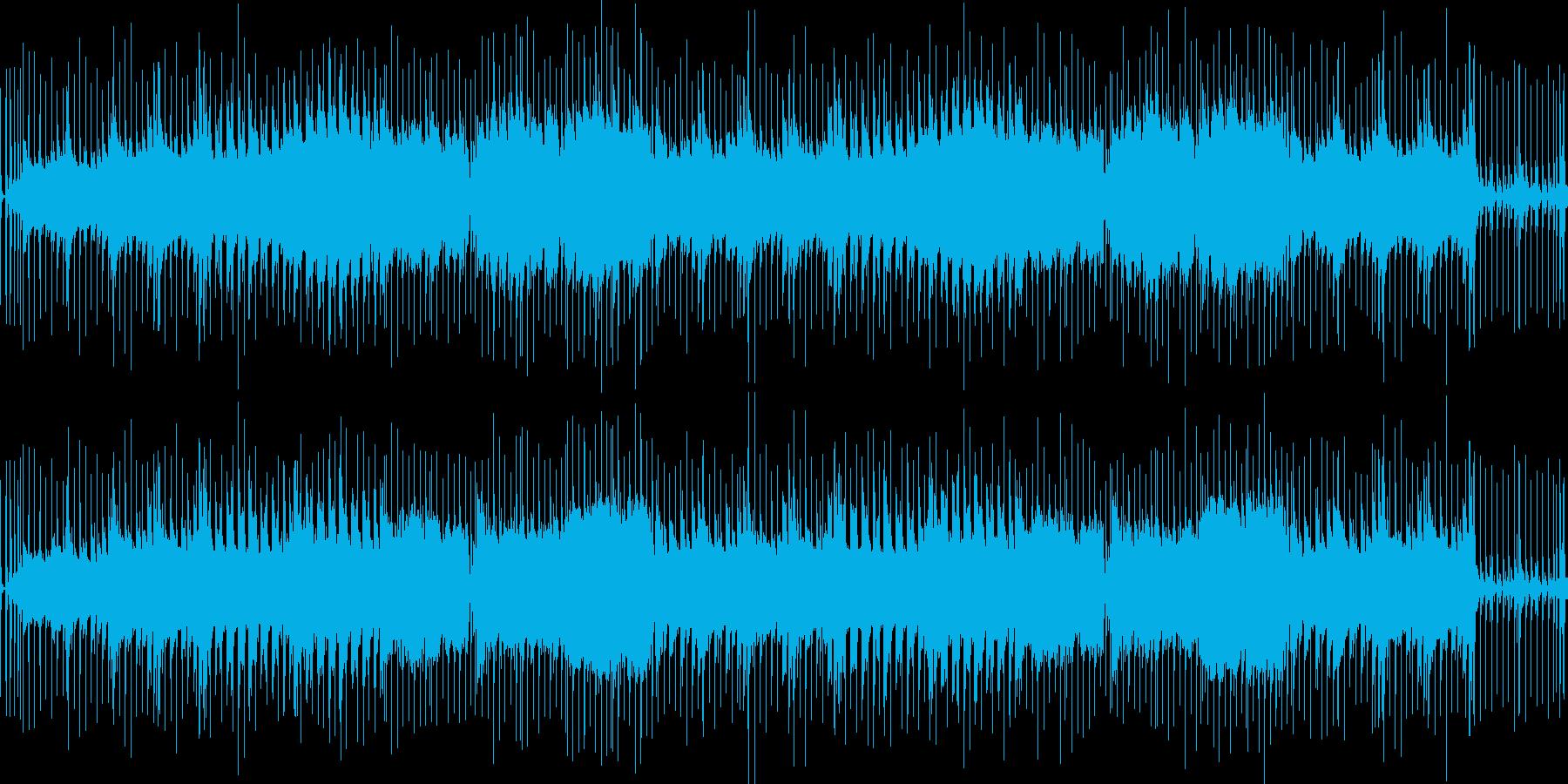 比較的軽めのバトルbgmの再生済みの波形