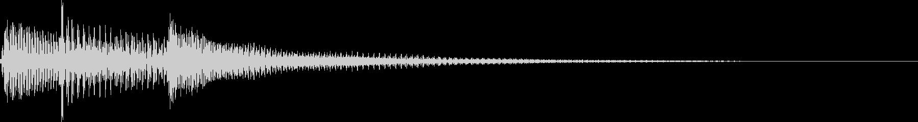 ポロロン(ギターかき鳴らし、決定)の未再生の波形