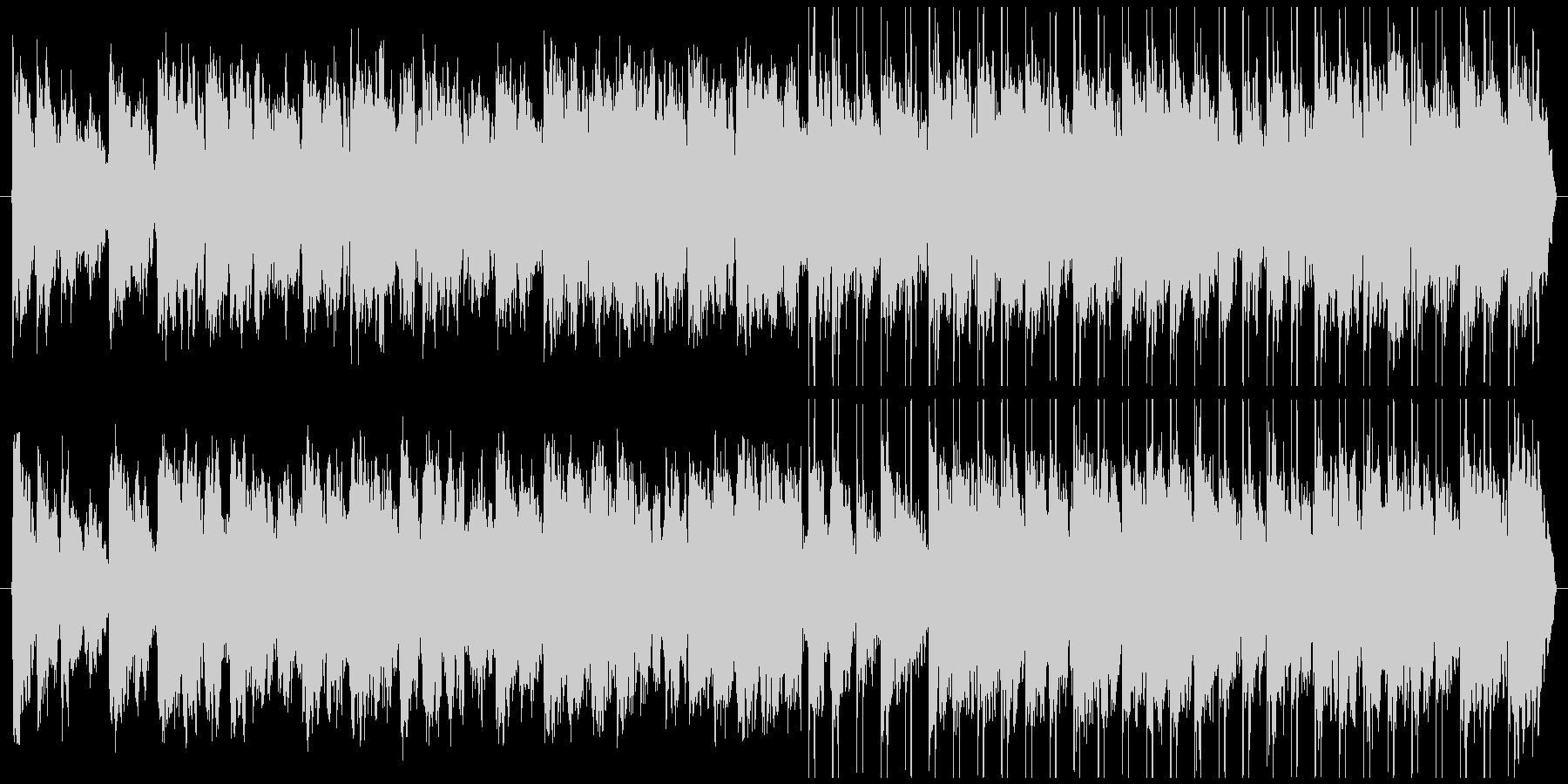 不穏な雰囲気のBGMです。の未再生の波形