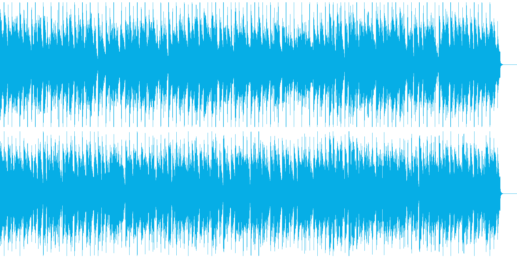 表彰式にヘンデルのアレンジ 口笛ウクレレの再生済みの波形