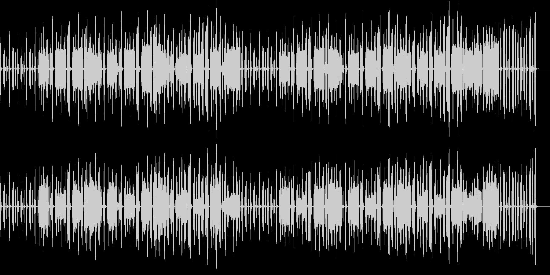 日常パート・口笛・リコーダー・説明・紹介の未再生の波形