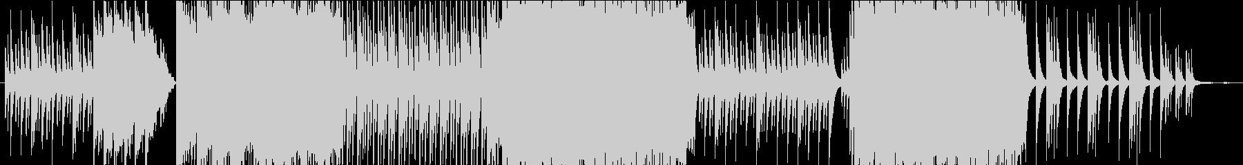 夕暮れ時の雑木林の帰り道をイメージの未再生の波形