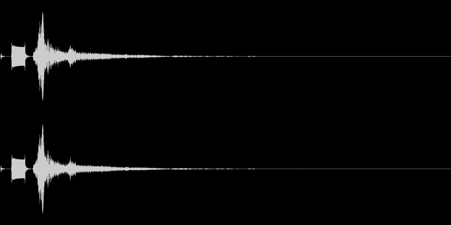 TV OFF-2の未再生の波形