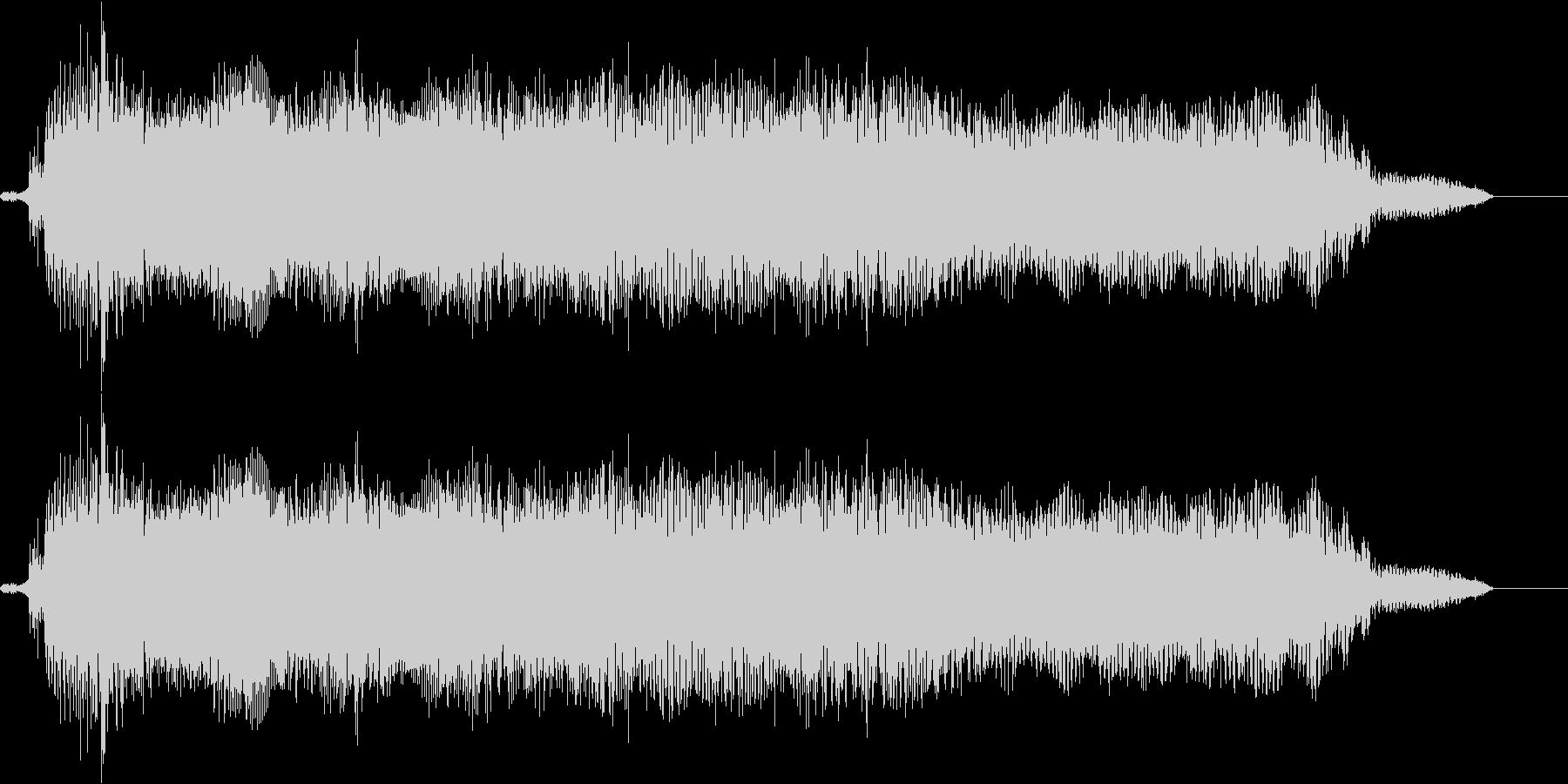 【エレキギター・リフ】チャイニーズ風の未再生の波形