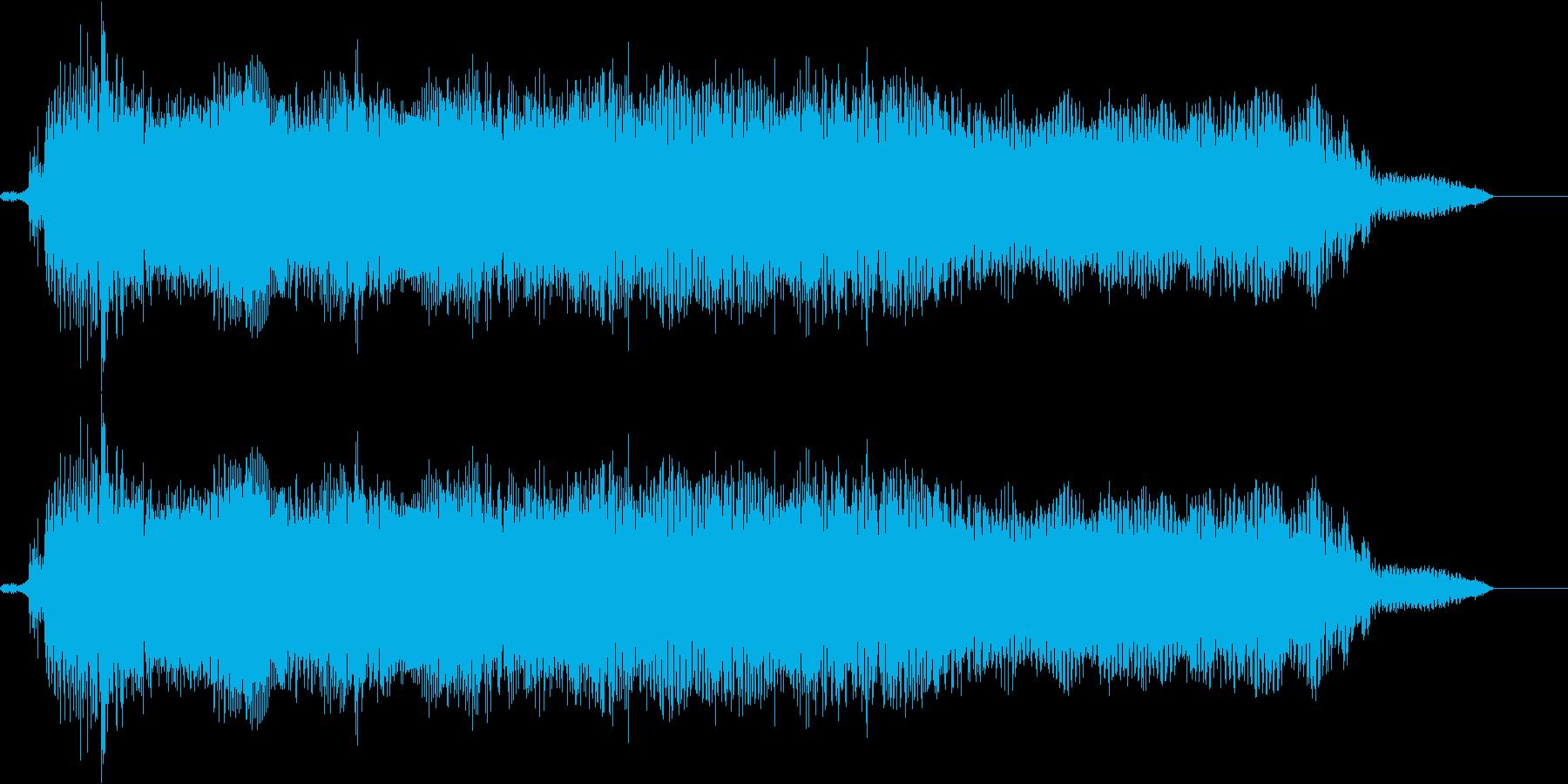 【エレキギター・リフ】チャイニーズ風の再生済みの波形