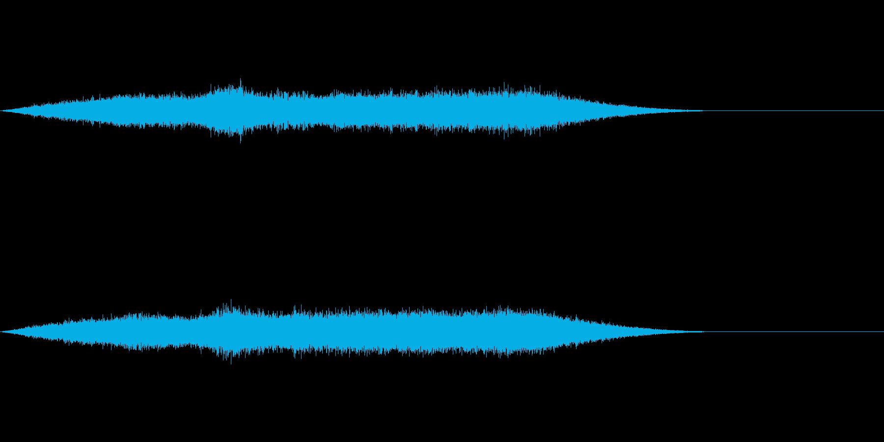 ワァーキャー!コンサートライブの歓声10の再生済みの波形