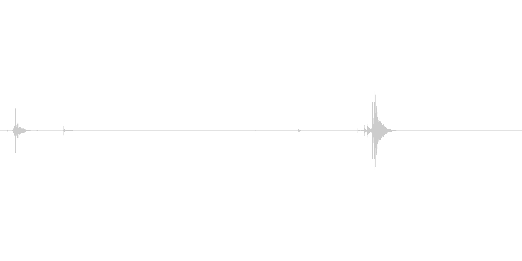 ハンドガン、イーグルタイプ。マガジン出…の未再生の波形