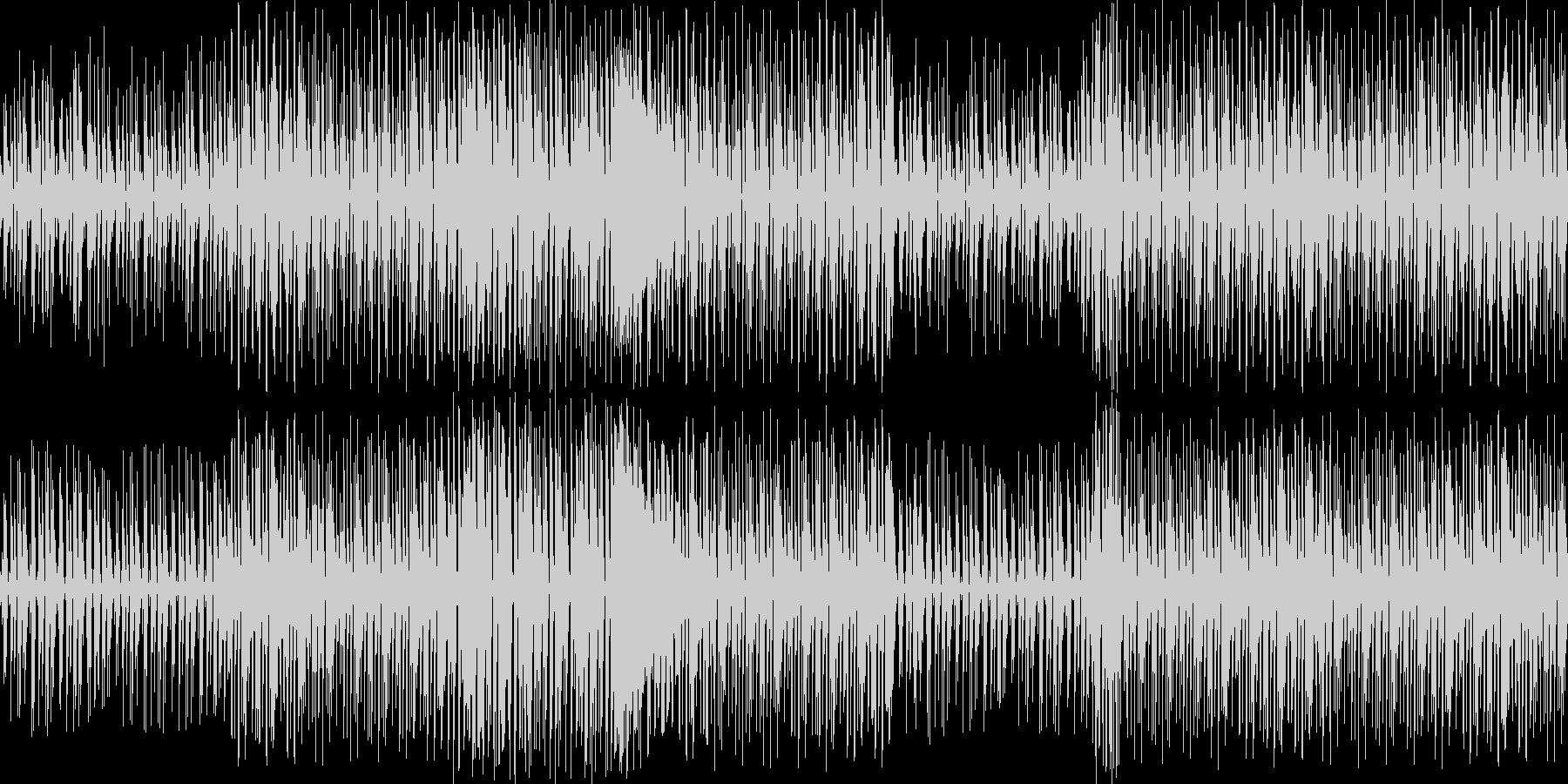 【キラキラでかわいいダンスミュージック】の未再生の波形