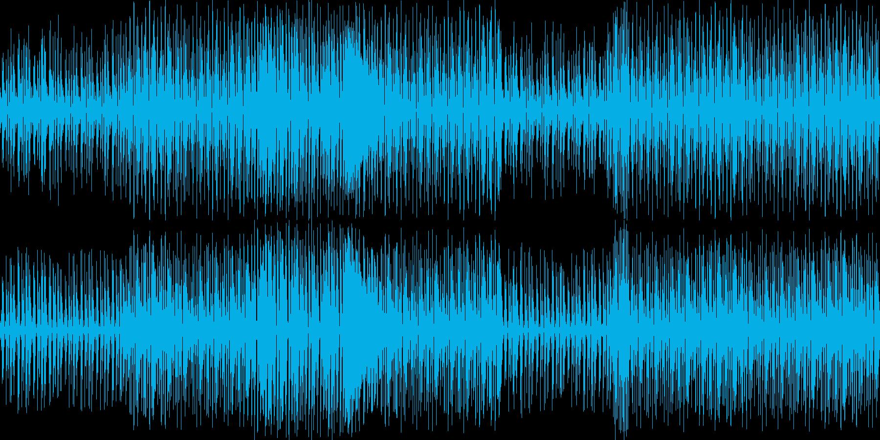 【キラキラでかわいいダンスミュージック】の再生済みの波形