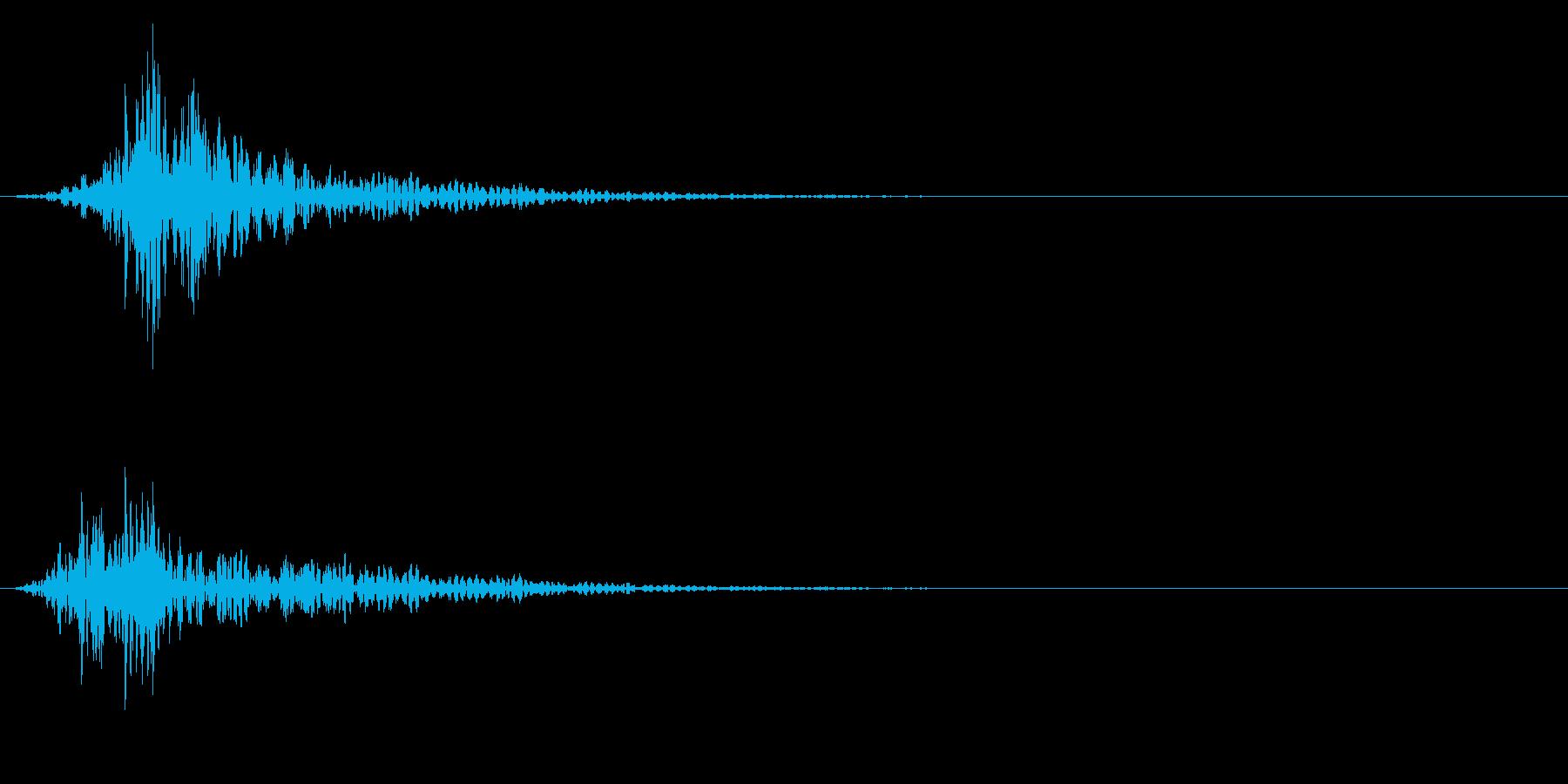 シネマティック 風切り インパクト!15の再生済みの波形
