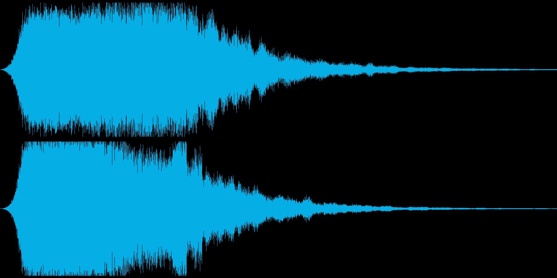 ドゥワーン ホラー系サウンドゲームアプリの再生済みの波形