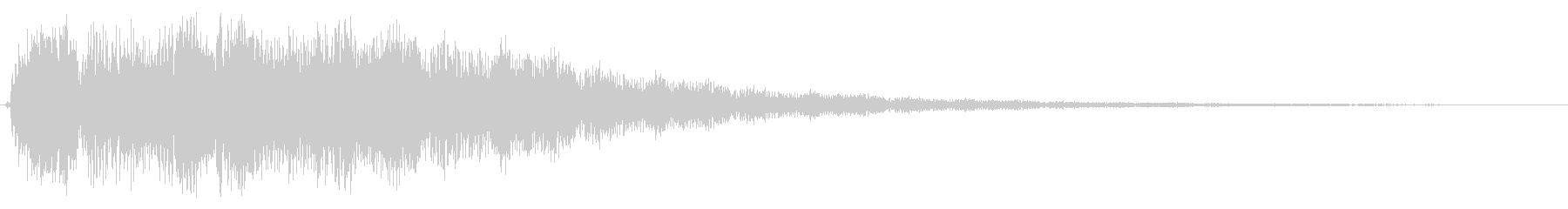 ブゥワァーンというタイトル音の未再生の波形