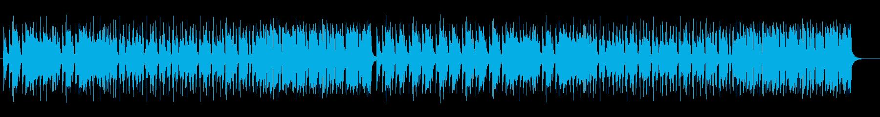 お洒落で現代的なミディアムテンポのジャズの再生済みの波形