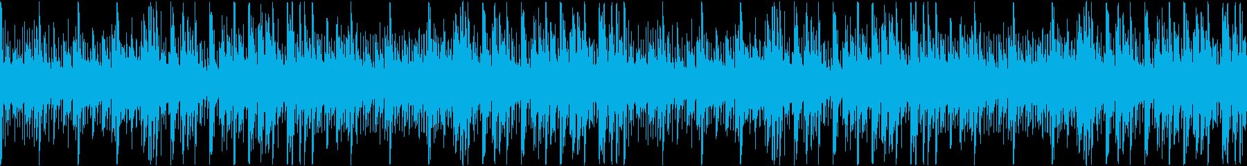 宇宙的なほのぼのエレクトロ サウンドロゴの再生済みの波形