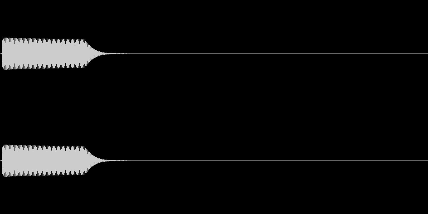 ピ(クリック_07)の未再生の波形