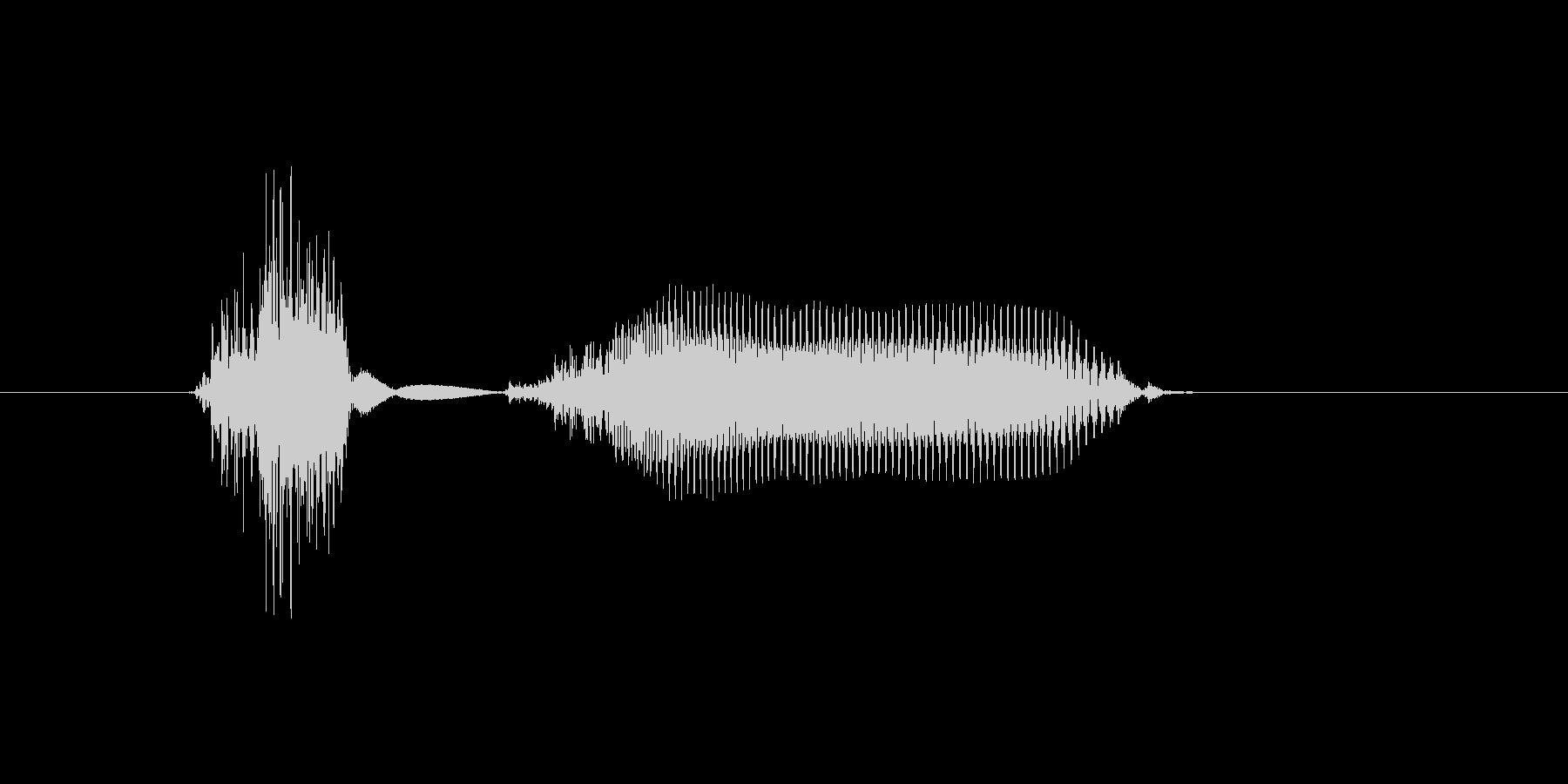 地球の未再生の波形