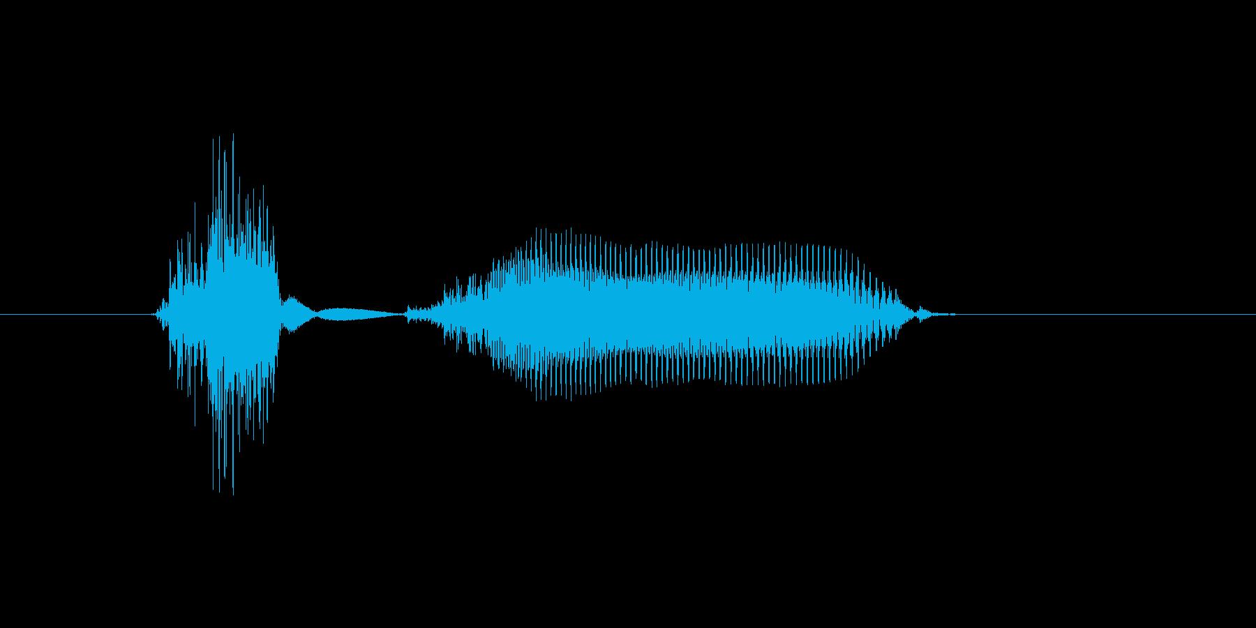 地球の再生済みの波形