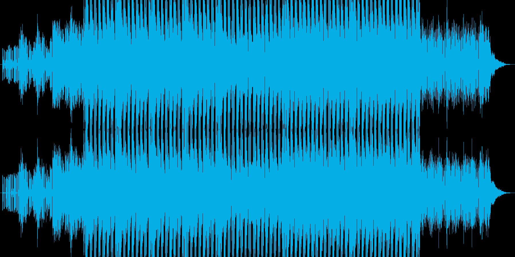 力強く駆け抜けるデジタルポップの再生済みの波形