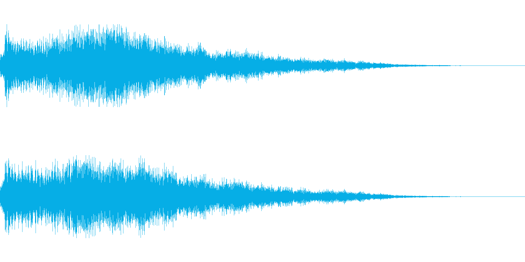 [シャラーン]回復魔法(可愛く爽やか)の再生済みの波形