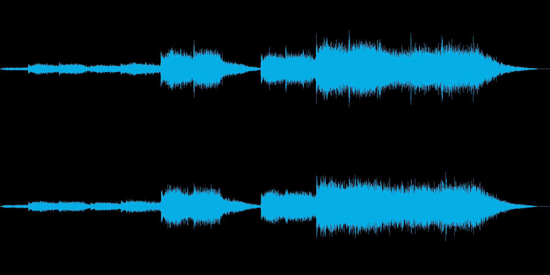 ゴースト登場です_001 の再生済みの波形