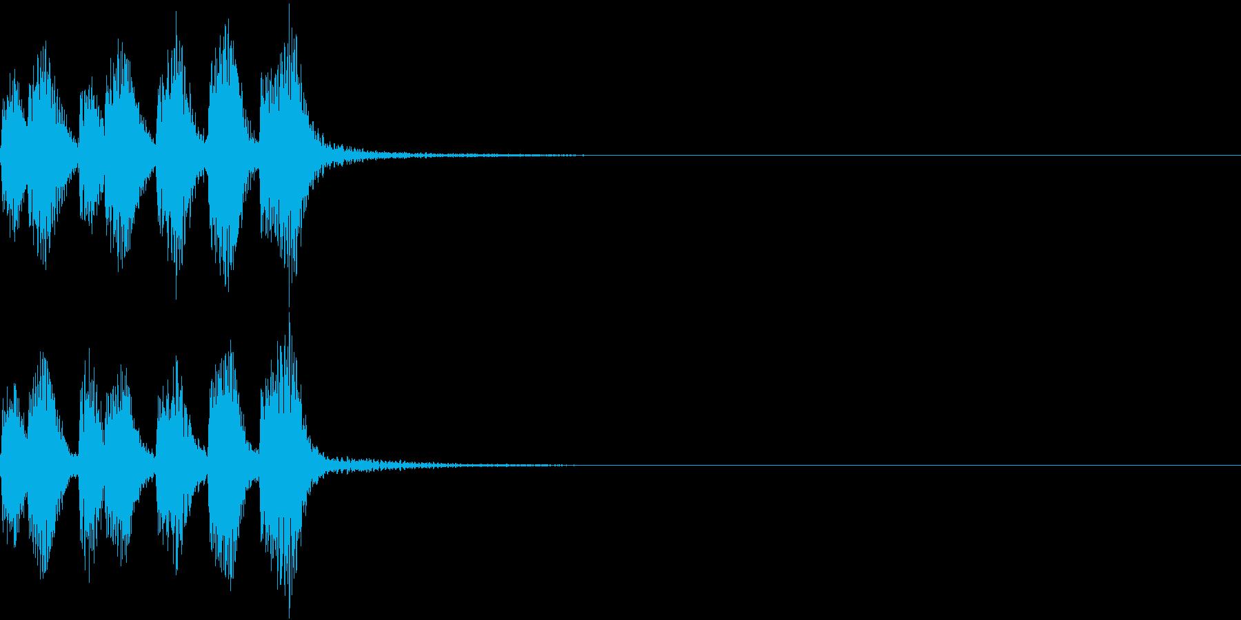 お知らせ 悪い バッド ニュース 3の再生済みの波形